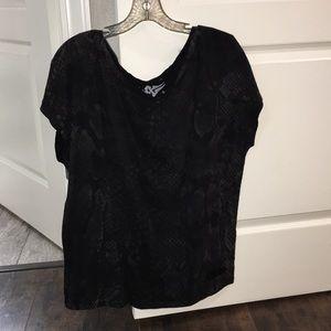 Women's Affliction top size L black